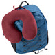 Comfort Neck Pillow in Burgundy (LC490) - Backpack