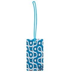 Luggage Tag | Blue Retro (LC7611)