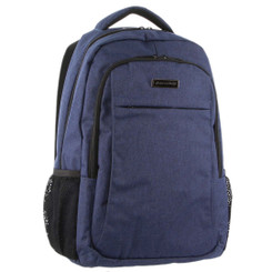Pierre Cardin Travel & Business Backpack with Built-in USB Port in Navy (PC3180)