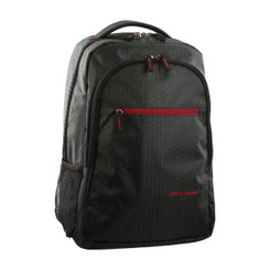 Pierre Cardin Ripstop Nylon Laptop Backpack in Black (PC2127)