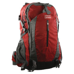 Pierre Cardin Red Adventure Nylon Laptop Backpack