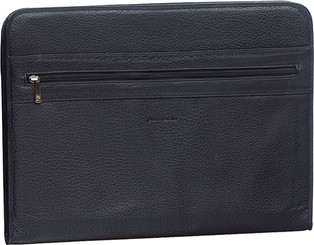 Pierre Cardin Leather A4 Document Folio in Black (PC8868)