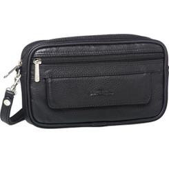 Pierre Cardin Mens Leather Organiser Bag (PC10165)