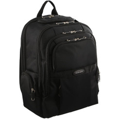 Pierre Cardin Padded Computer Backpack in Black (PC2649)