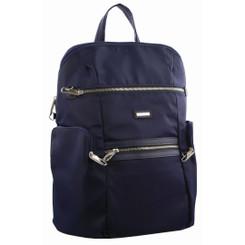 Pierre Cardin Nylon Slash-Proof Backpack - Navy (PC2891)