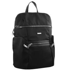 Pierre Cardin Nylon Slash-Proof Backpack - Black (PC2891)