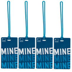 Luggage Tag | Mine (LC7612) - PACK OF 4