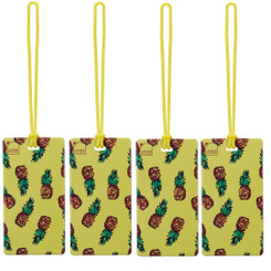 Luggage Tag | Pineapple (LC7614) - PACK OF 4