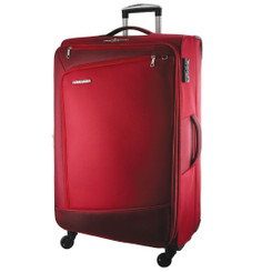 Pierre Cardin Soft Luggage Case in Red - LARGE (PC2810L)