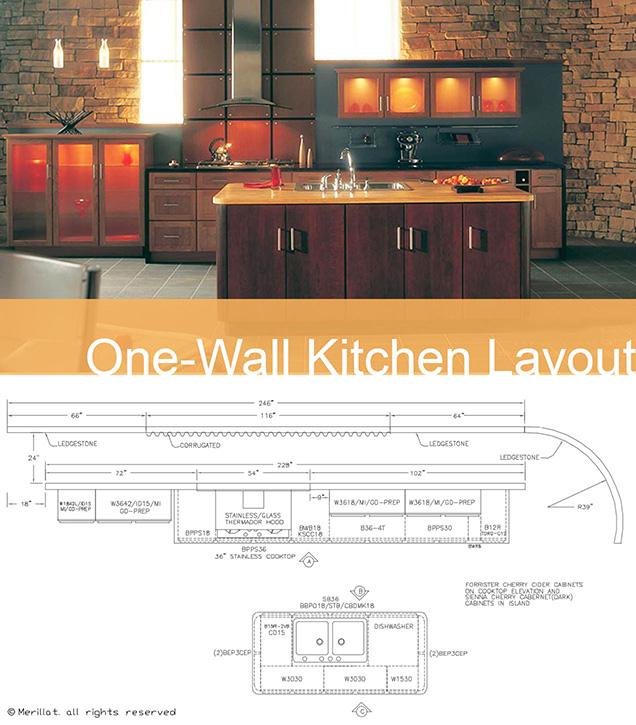 How To Make Today S Popular Kitchen Layouts Work Merillat