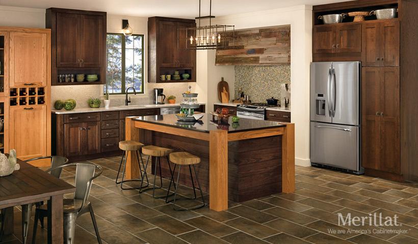 top 6 ideas for designing a country kitchen merillat rh merillat com