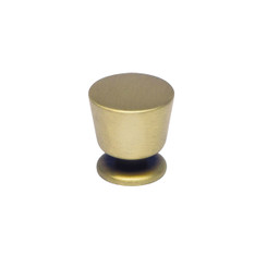Merillat Masterpiece® Waterton Knob (Brushed Brass)