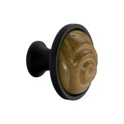 Merillat Classic® Ochre Finished Ceramic Totem Knob