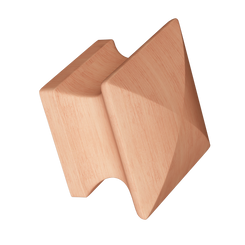 Merillat Masterpiece® Cherry Square Wood Knob