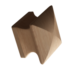 Merillat Masterpiece® Maple Square Wood Knob