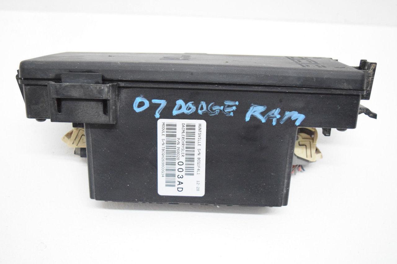 07 dodge ram underhood relay center fusebox oem p68028003ad  price:  $233 99  https://i ebayimg com/00/s/mta2nlgxnjaw/