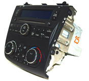 07 08 09 NISSAN ALTIMA CD PLAYER  RADIO CLIMATE CONTROL