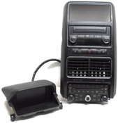 09 10 Chrysler Dodge Jeep Navigation Radio CD Player Climate Control Vents Bezel Upgrade