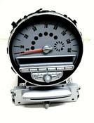 07 08 09 10 Mini Cooper R56 OEM Mini Boost Speedometer and Media USB Radio