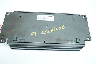 99 00 CADILLAC ESCALADE AMP AMPLIFIER BOSE 15035098