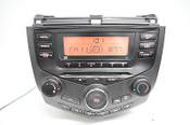 03 04 05 06 07 HONDA ACCORD RADIO CD PLAYER RADIO CLIMATE WITH CODE