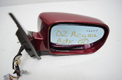01 02 03 04 05 06 ACURA MDX RIGHT PASSENGER SIDE VIEW MIRROR MAROON