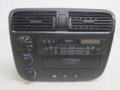 02 03 04 05 HONDA CIVIC CLIMATE CONTROL CASSETTE RADIO DASH BEZEL