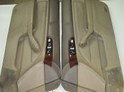 94 95 96 97 HONDA ACCORD COUPE 2DOOR DOOR PANELS WOODGRAIN TRIM SET