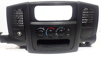 03 04 05 DODGE RAM 1500 2500 3500 DASH BEZEL WITH CLIMATE CONTROL