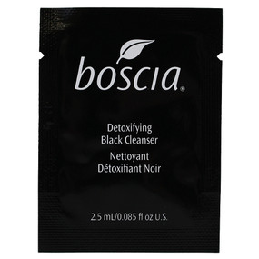 Boscia Detoxifying Black Charcoal Cleanser, SAMPLE 0.08oz/2.5ml