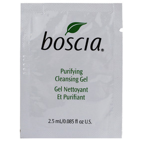 Boscia Purifying Cleansing Gel, SAMPLE 0.08oz/2.5ml