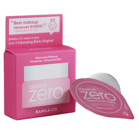 Banila Co Clean It Zero 3-in-1 Cleansing Balm - Original, Travel Size 0.1oz/3ml