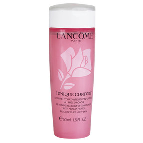 Lancome Tonique Confort Re-Hydrating Comforting Toner with Acacia Honey, Travel Size 1.6oz/50ml