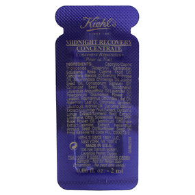 Kiehl's Midnight Recovery Concentrate, SAMPLE 0.06oz/2ml