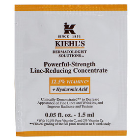 Kiehl's Powerful Strength Line Reducing Concentrate, SAMPLE 0.05oz/1.5ml