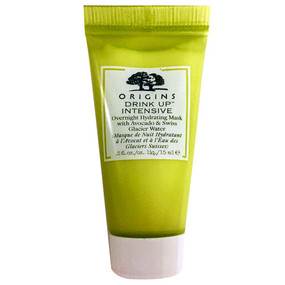Origins Drink Up-Intensive Overnight Mask to Quench Skin's Thirst, Travel Size 0.5oz/15ml