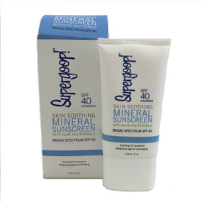 Supergoop Skin Soothing Mineral Sunscreen SPF 40, 2.4oz/71ml