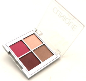 Clinique All About Shadow Quad Palette - Travel Size - 0.7oz/2.2g