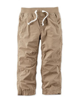 Carter's Boys Pull-On Woven Khaki Pants