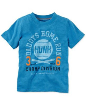 "Carter's Boys ""Daddy's Home Run Hunk"" T-Shirt"