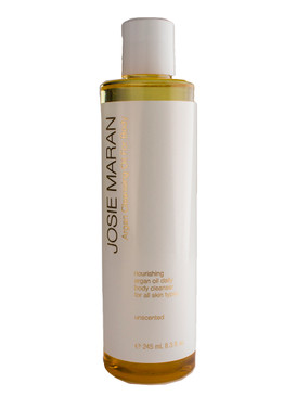 Josie Maran Argan Cleansing Oil for Body - Unscented, 8.3oz/245ml Unboxed