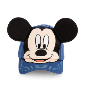 Disney Store Mickey Mouse Blue Baseball Cap with Ears