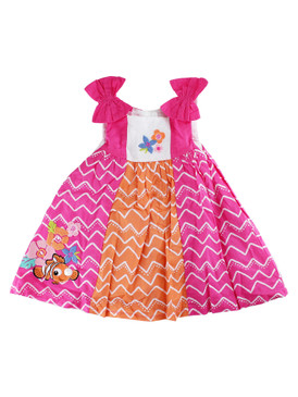 Disney Store Baby Girls Nemo - Finding Nemo - Sleeveless Woven Dress