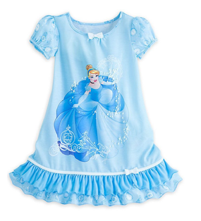 Disney Store Cinderella Nightshirt for Girls