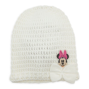 Disney Store Minnie Mouse Knit Hat for Baby Girls
