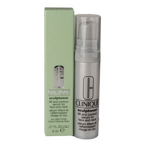 Clinique Sculptwear Lift and Contour Serum for Face and Neck, Travel Size .27oz/8ml
