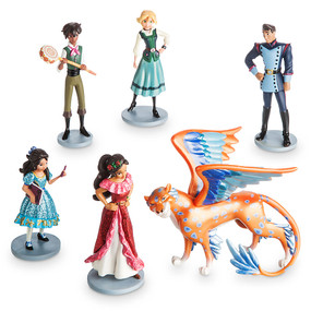 Disney Store Elena of Avalor Figure Figurine 6 pcs Play Set
