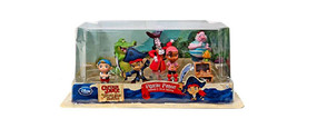 Disney Store Captain Jake and the Never Land Pirates Figure Figurine 7 Pcs Play Set