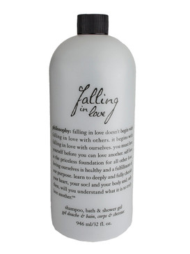 Philosophy Falling In Love Shampoo, Bath & Shower Gel, 946ml/32oz