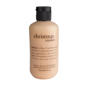 Philosophy Christmas Cookie Shampoo, Shower Gel & Bubble Bath, 180ml/6oz